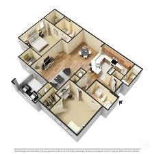 2 Bed 2 Bath House Plans Floor Plans The Crossings At Cottage Hill In Mobile Al