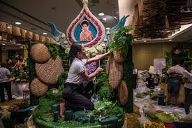 Vegetable And Fruit Decoration Fruit And Vegetable Carving Competition In Thailand