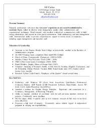 Resume Document J Carlee Admin Resume Doc