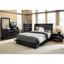 Black Lacquer Bedroom Furniture Bedroom Gorgeous Black Bedroom Furniture With Tufted Leather Bed