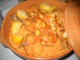 recette cuisine couscous tunisien recette couscous au poulet