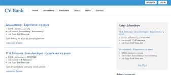 Job Seekers Resume by Splendid Design Resume Finder 11 Job Seekers Database Script Cv