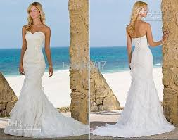 wholesale ella wedding dresses beach trumpet mermaid organza