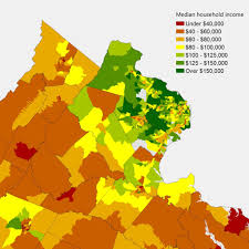 Map Of New Jersey And New York by 10 Ways To Map Northern Virginia Statchat