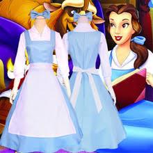 Belle Halloween Costume Blue Dress Popular Belle Blue Dress Costume Buy Cheap Belle Blue Dress