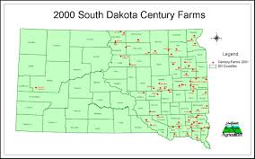 Map Of South Dakota Counties Maps South Dakota Department Of Agriculture