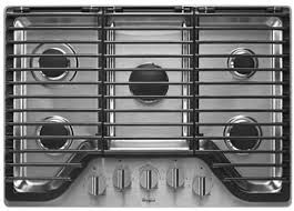 Westinghouse 5 Burner Gas Cooktop Whirlpool Wcg97us0ds 30 Inch 5 Burner Gas Cooktop With Flexheat