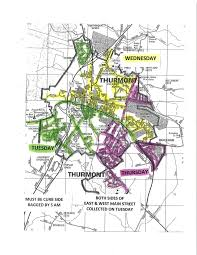 thanksgiving trash pickup trash collection map thurmont md official website