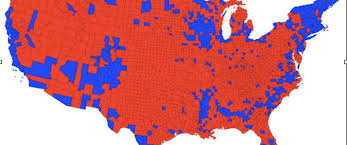 cartogram map cartogram maps prove that america isn t a country republic