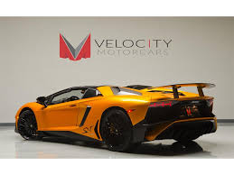 2016 Lamborghini Aventador - 2016 lamborghini aventador lp 750 4 sv roadster for sale in