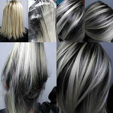 best way to blend gray hair into brown hair this is what s happening at the unicorn tribe salon right now