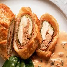 cuisine a base de poulet portefeuille de poulet au munster cuisine plurielles fr