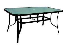 Black Patio Dining Set - black steel patio dining table 38 x 60 in at home at home