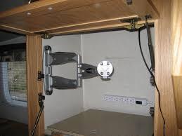 cabinet under wall mount tv under cabinet tv mount for kitchen