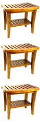 Teak Shower Bench Corner Pollenex Solid Teak Spa Bench Corner Teak Spa Bench Teak Shower