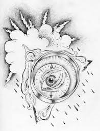 all seeing eye compass by suevang d df free images at clker com