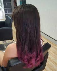 dark brown and burgundy hair brown hairs