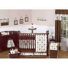 Crib Bedding Owls Sweet Jojo Designs Owl 9 Crib Bedding Set Free