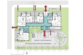 Building Entrance Auckland Design Manual - Apartment building design plans