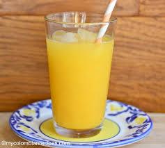 Mango Juice mango juice jugo de mango my recipes