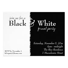 21st birthday invitation ideas black u0026 white party google search
