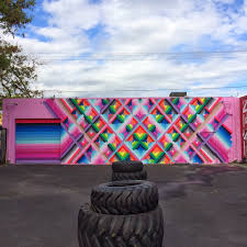 maya hayuk new mural for art basel 13 wynwood walls miami street art by maya hayuk for