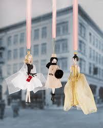 56zg de carlini fashionista ornaments winter holidays