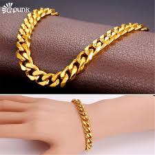 cuban link bracelet men images 9mm curb cuban link chain bracelet men heavy metal accessories jpg
