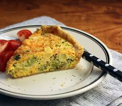 the pantry broccoli cheddar and mashed potato quiche
