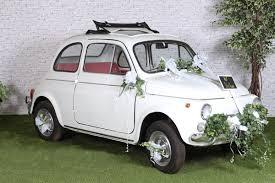 kit deco voiture mariage kit de décoration voiture mariage blanc x1 ref 70189
