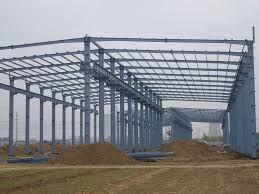 modular warehouse building prefabricated light steel structure shed