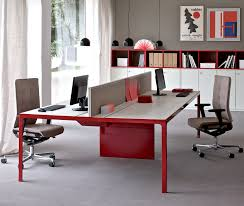 workstation desk executive wooden metal more by alberto