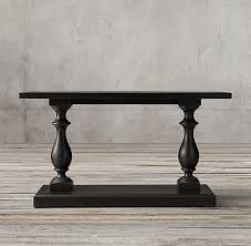 restoration hardware 17 c monastery table c monastery console table