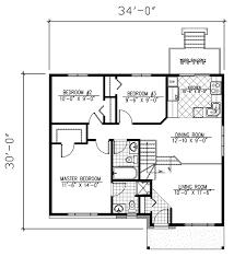 split foyer floor plans split foyer plan 982 square 3 bedrooms 2 bathrooms 1785
