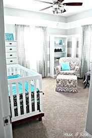Nursery Boy Decor Navy Blue And Gray Nursery Ideas Modern Stripes Baby Boys Gray