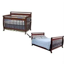 Davinci Emily 4 In 1 Convertible Crib Davinci Emily 4 In 1 Convertible Crib With Bed Rails In Cherry