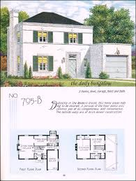 small retro house plans 1935 national plan service bungalow vintage house plans and house