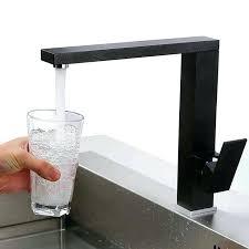 wholesale kitchen faucets chrome brass kitchen faucet square swivel spout ceramic valve