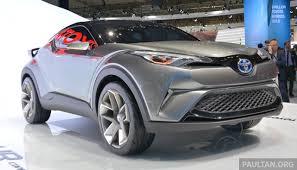 lexus nx turbo paultan toyota u0027s c hr crossover to be u0027distinctively u0027 different