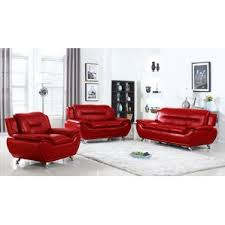 Red Living Room Sets Youll Love Wayfair - Red leather living room set