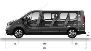 renault grand scenic luggage capacity dimension trafic passenger vans renault uk