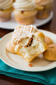 snickerdoodle cupcakes with cinnamon swirl frosting sallys