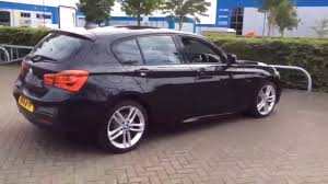 black bmw 1 series bmw 1 series 118d m sport black 2016