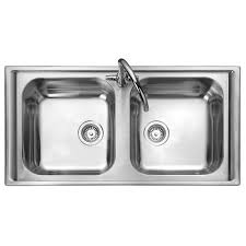 Rangemaster Manhattan  Bowl Stainless Steel Kitchen Sink - Stainless steel kitchen sinks cheap