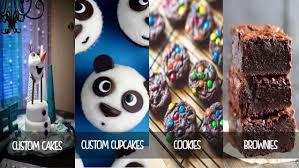 custom designed cake online business
