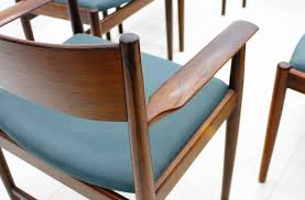 rosewood dining chairs by arne vodder for sibast furniture 1960s