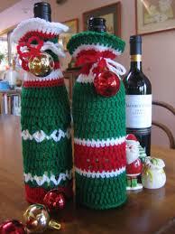 pattern for wine bottle holder crochetroo happy bottle bags free crochet pattern