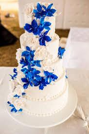 wedding cake royal blue blue velvet wedding cake cake ideas