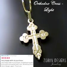 russian orthodox crosses our orthodox crosses get reviews zoran designs jewellery