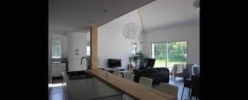 plan de maison avec cuisine ouverte superb cuisine ouvert sur salon 5 maison contemporaine